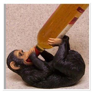 Other - Wine Bottle Holder Drunken Chimpanzee Monkey